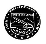 BD USA Rock Island Armory Sticker, Decal Sticker Vinyl Car Home Truck Window Laptop