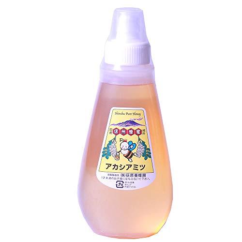 国産アカシアはちみつ ポリ容器入り 250g×1本 荻原養蜂園 香りやさしく、さっぱりとした味が人気の蜂蜜