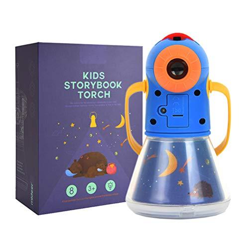 Proiettore Torcia Per Bambini, 8 Fairy Tales Movies 64 Diapositive, Per Bambini Sonno Story Proiettore Bedtime Story Toy Giocattolo Educativo Regalo Per Bambino