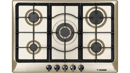 Plados Star 75 Incasso Piano cottura a gas Alluminio