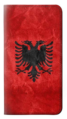 Albania Football Soccer Red Flag Flip Case Cover Custodia per iPhone 7 Plus, iPhone 8 Plus