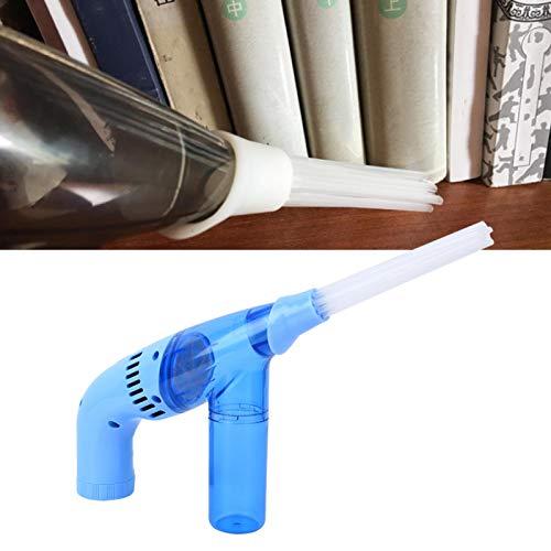 Aspirador de Mano de succión Fuerte, Limpiador de Escritorio Mini colector de Polvo, portátil para Oficina en casa(Blue)