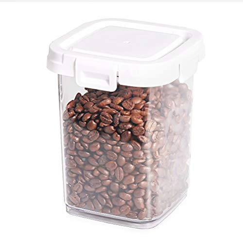 77L Food Storage Canister - Airtight Food Storage Canister with Lid for Keep Food Dry and Organized, 32.8 FL OZ (970 ML) Acrylic Stackable Pantry Container for Flour, Sugar, Oats and More (Clear)