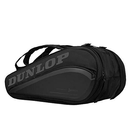 Dunlop CX Performance 15 RKT Thermo BLK - Sacca sportiva classica, colore nero, 13-15