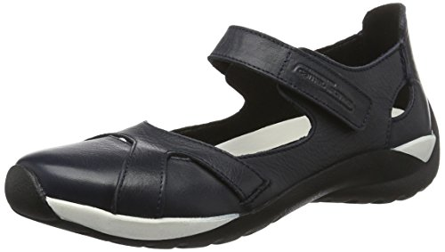 camel active Damen Moonlight 71 Geschlossene Ballerinas, Blau (Midnight 06), 39 EU