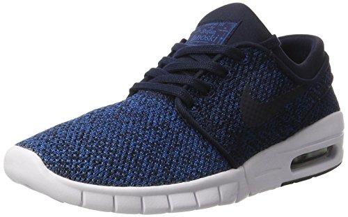 Nike Herren SB Stefan Janoski Max Skateboardschuhe, Blau (Industrial Blue/Obsidian-Photo Blue-LT A), 38.5 EU