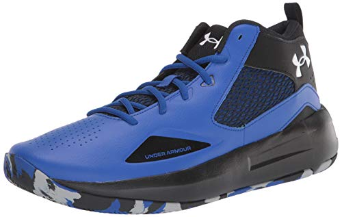 Under Armour Lockdown 5 Zapatillas de Baloncesto, Unisex Adulto, Azul (Royal/Black - 400), 46 EU