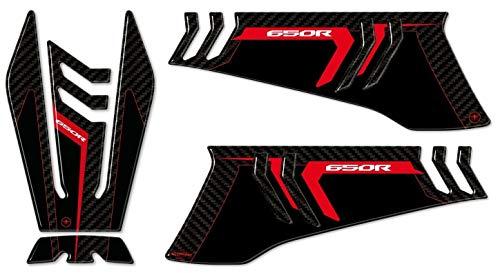 Protection Du Réservoir et Protections Latéral 3D Compatible CBR 650 R Moto Honda CBR650R