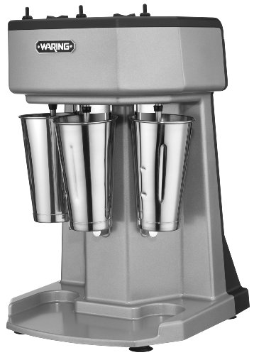 Waring Commercial WDM360 Heavy Duty Diecast Metal Triple Spindle Drink Mixer