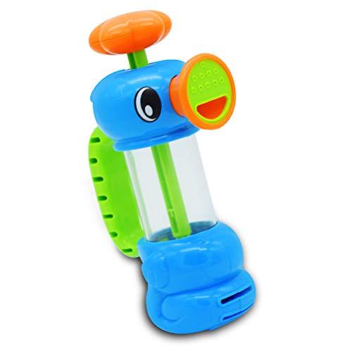 EASTVAPS Hippocampe bombeado Niños bañera juguetes del agua Cubo bombeo grifo de agua Juguete