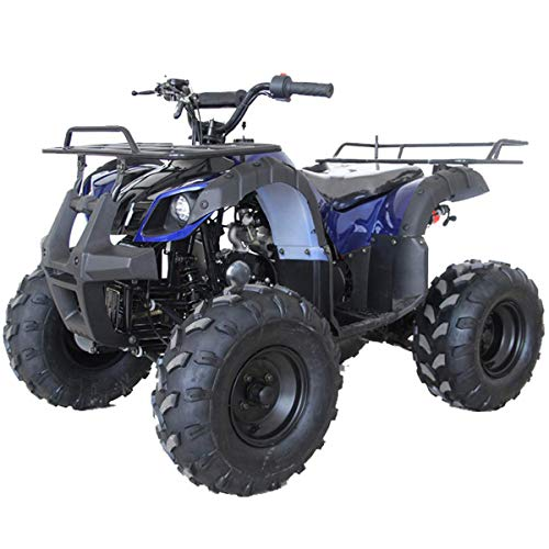 X-PRO ATV for Sale 125cc ATV Quad Youth 4 wheeler ATVs Adults ATV Four Wheelers (Spider Blue)