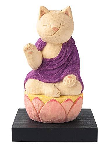 猫buddha 阿弥陀如来(戌・亥年の守護本尊) 仏屋さかい原型監修_十二支守り本尊 イSム 仏像ワールド(NB8あみだ