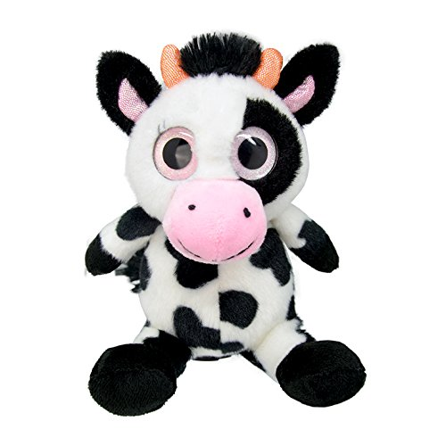 Wild Planet - All About Nature - K7846 - Peluche - Vache - 15 Cm