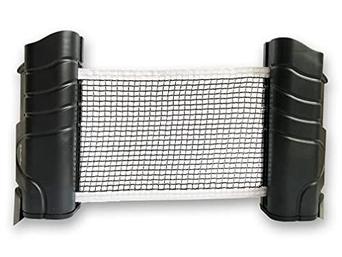 heinsa Red de ping pong para cualquier mesa para llevar – Red de tenis de mesa para exteriores 220 x 14,5 cm