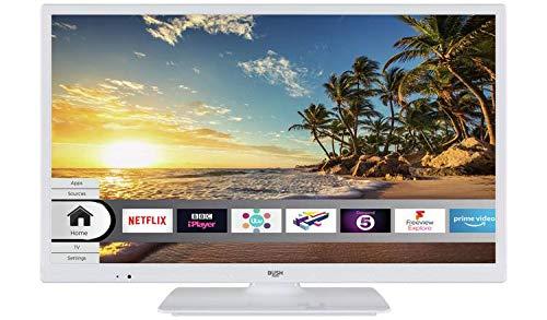 Bush LED24265DVDCNTDW 24 Inch Smart HD Ready LED TV/DVD Combo ...