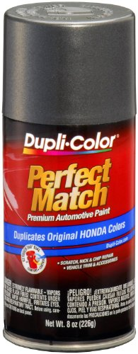Dupli-Color EBHA09287 Graphite Grey Metallic Honda Perfect Match Automotive Paint - 8 oz. Aerosol