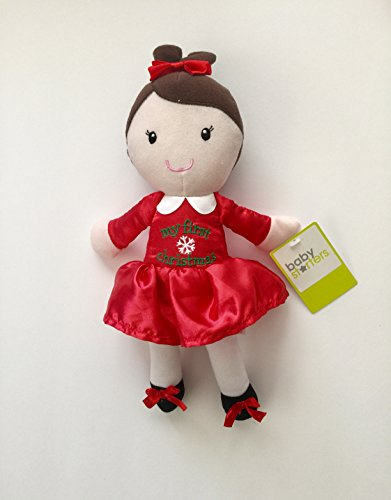 """Baby Starters 12"""" My First Christmas Plush Doll"""