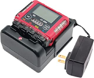 GX-2009, 4 gas, LEL / O2 / H2S / CO with alligator clip and 115 / 220 VAC charger by RKI Instruments