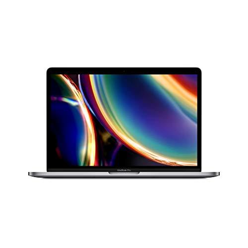2020 Apple MacBook Pro (de 13 Pulgadas, Chip i5 de Intel, 16 GB RAM, 512 GB Almacenamiento SSD, Magic Keyboard, Cuatro Puertos Thunderbolt 3) - Gris Espacial