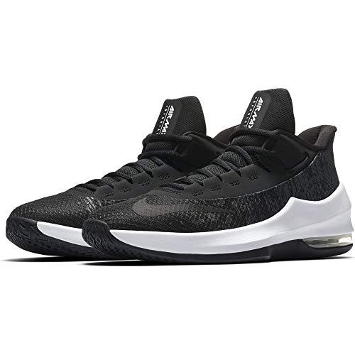 Nike Air MAX Infuriate II GS, Zapatillas Altas Unisex Niños, Negro (Black/Black-White-Anthracite 001), 36 EU