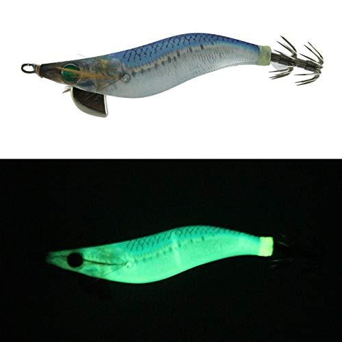 YAMASHITA Totanara da Pesca Squid Jig R Sutte Glow Totanare Luminose Egi Eging Seppie Calamari squid 2.5 10 Grammi Artificiale Professionale Luce (F NMI)