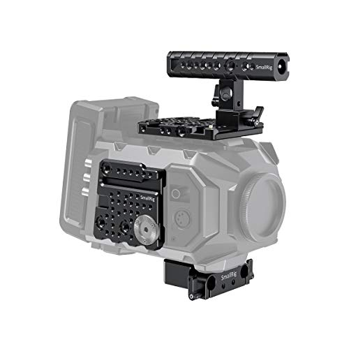 SMALLRIG Accessory Kit per Blackmagic URSA Mini/URSA Mini Pro (Top Handle + Top Plate + Side Plate + Baseplate)-1902
