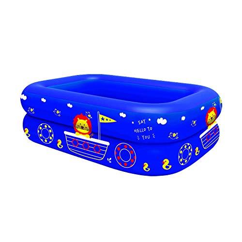 Topashe Piscina Hinchable para niños y Adultos,Piscina Hinchable-Azul_120cm,Bañera Piscina de para Adultos