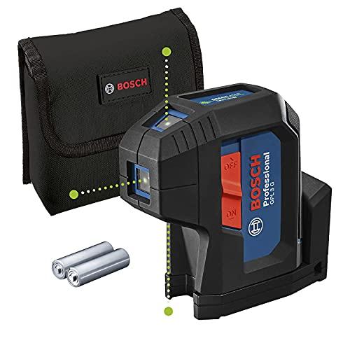 Bosch Professional Measurement 0601066N00 Livella Laser a 3 Punti, Blu