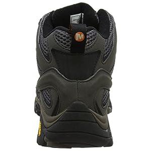 Merrell Men's Moab 2 Mid GTX High Rise Hiking Boots, Beluga, 13 M US