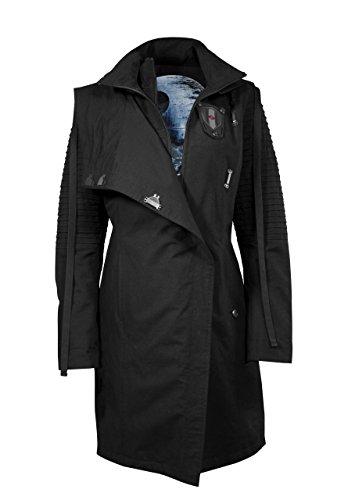 Musterbrand Star Wars Mantel Damen Sith Lady Limited Edition Jacke schwarz 36 (S)