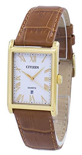 Citizen Bh3002-03a Dorado Correa De Piel Nuevo