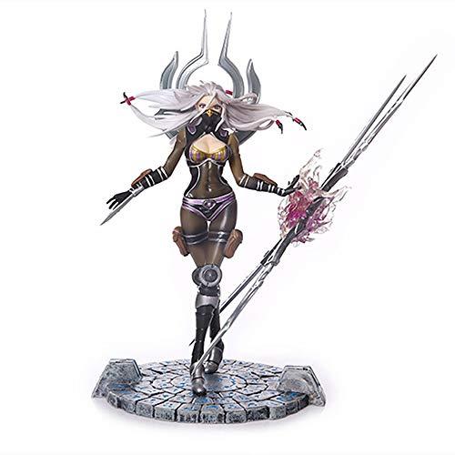 YXCC Blade Will Modelo de Mano Femenina Irelia Figura de nina Espada Muneca de Adorno