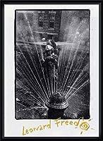 ポスター レナード フリード Harlem New York/Freed 額装品 ウッドハイグレードフレーム(ブラック)