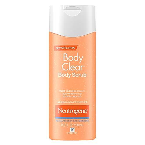 Neutrogena Body Clear Body Scrub 8.50 oz (Pack of 4)