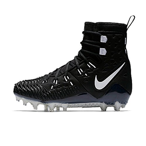 Nike Force Savage Elite TD Black Men's Football Cleats Size 10.5