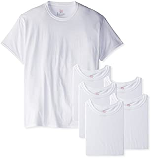 Hanes Men's 6-Pack FreshIQ Crew T-Shirt