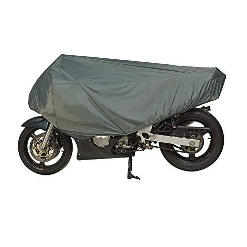 Dowco Travel Ready Water Resistant Premium Motorcycle Half Cover: Grey, Sportbike