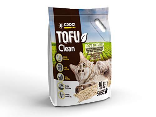 Croci Lettiera Tofu Clean 10Lt4,5Kg