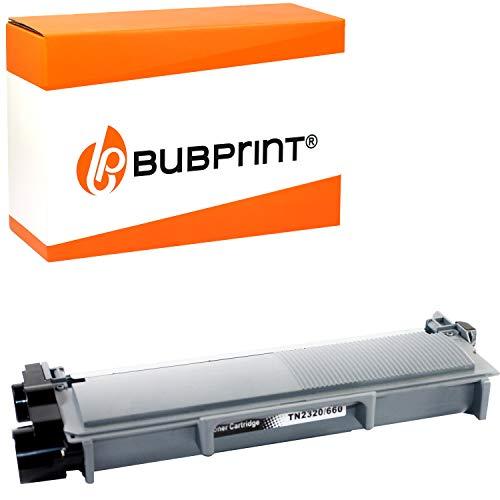 Bubprint Kompatibel Toner als Ersatz für Brother TN-2320 TN-2310 für DCP-L2500D DCP-L2520DW DCP-L2540DN DCP-L2560DW HL-L2300D HL-L2340DW HL-L2360DN HL-L2365DW MFC-L2700DN MFC-L2700DW Schwarz