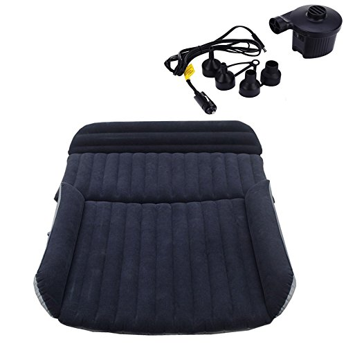 SUV Mattress Air bed Portable Car Bed for Outdoor Traveling Air Bed Travel Inflation Mattress Back Seat Free Electric Air Pump