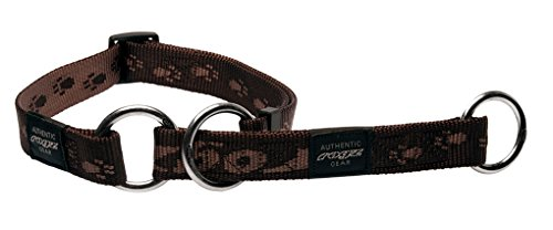 Rogz HBC27-J Alpinist Stopp- Halsband/Everest, XL, braun
