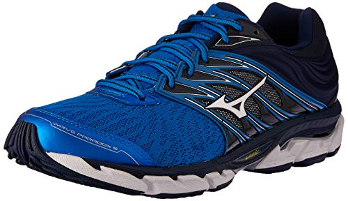 Mizuno Wave Daichi 5, Scarpe da Trail Running Donna, Bleu Noir, 44.5 EU