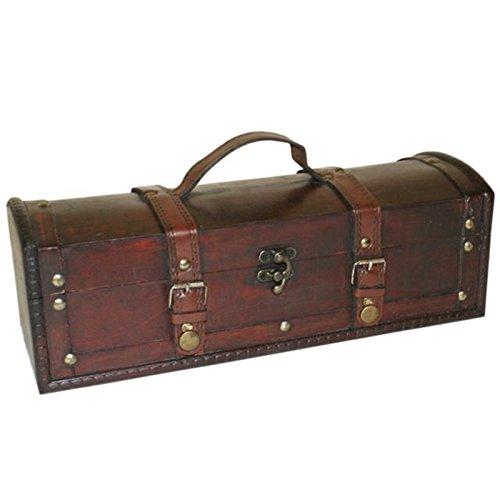 Generic sure Baúl rústico vintage rge cofres del tesoro de madera Vi...