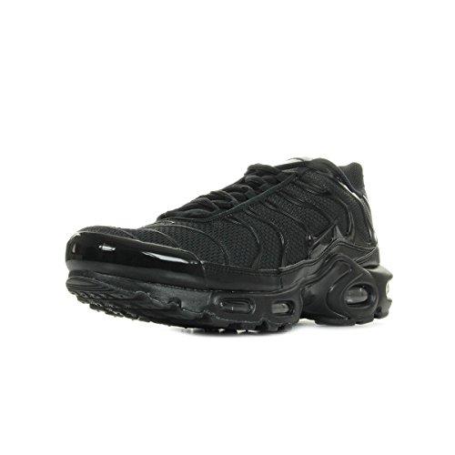 Nike Air Max Plus, Scarpe da Ginnastica Basse Uomo, Nero (Black/Black-Black 050), 45 EU