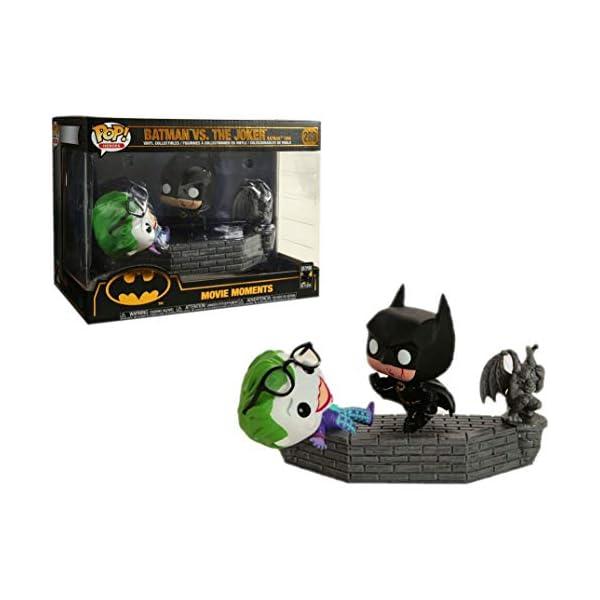 Funko 37250 Pop Vinilo: Movie Moment 80th: Batman and Joker (1989) Figura Coleccionable, Multicolor 4