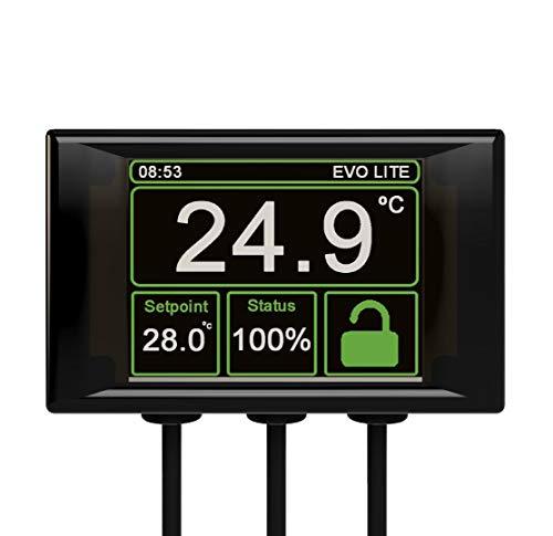 Microclimate Evo Lite Thermostat, Schwarz
