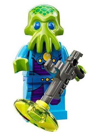 Lego Serie 13 Minifigura - Alien Soldado - #7 CMF 71008