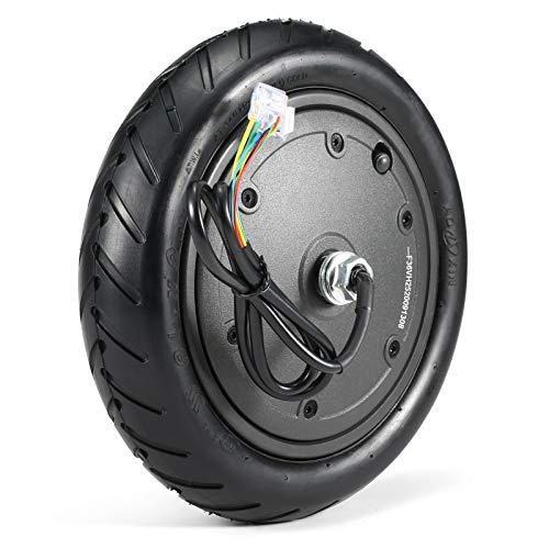 Tidyard Rueda de Motor de 250 W para M365, Rueda de Scooter eléctrica, Accesorios de Repuesto de neumático Antideslizante