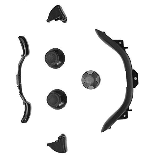 Negro LB RB LT RT Botones Piezas Reparación para Xbox 360 Controlador Mando