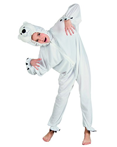 Boland - CS850115 - Costume peluche ours blanc max 140cm